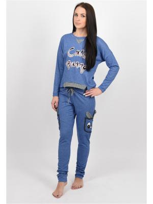 Комплект BON-AR. Цвет: серо-голубой