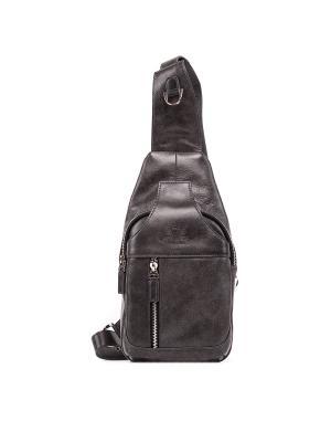 Рюкзак молодежный VERSADO. Цвет: темно-серый