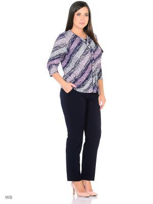 Блузка, модель Лиза Dorothy's Нome. Цвет: черный, розовый, серый меланж