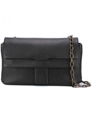 Средняя сумка через плечо Tomas Maier. Цвет: чёрный