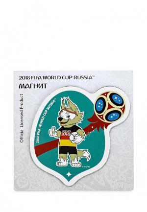 Магнит 2018 FIFA World Cup Russia™. Цвет: бирюзовый