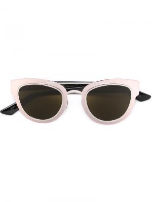 Солнцезащитные очки Chromic Dior Eyewear. Цвет: розовый и фиолетовый