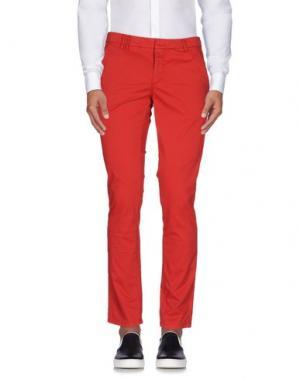 Повседневные брюки HAVANA & CO.. Цвет: красный