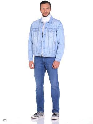 Куртка джинсовая мужская, цвет голубая Montana. Цвет: голубой
