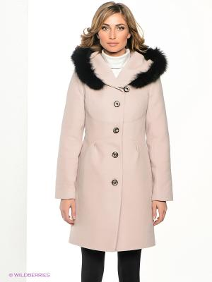 Пальто Klimini. Цвет: кремовый