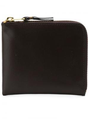 Классический кошелек Comme Des Garçons Wallet. Цвет: коричневый