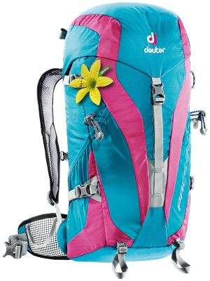 Рюкзак Deuter 2016-17 Pace 28 SL petrol-magenta. Цвет: голубой, розовый