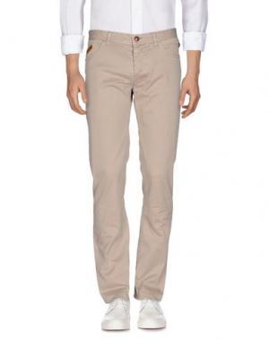Джинсовые брюки HISTORIC RESEARCH. Цвет: бежевый