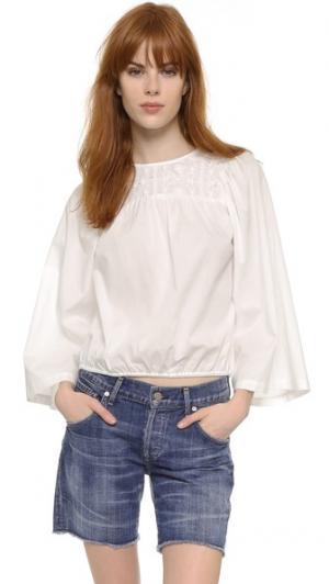 Блуза Miri Rodebjer. Цвет: белый