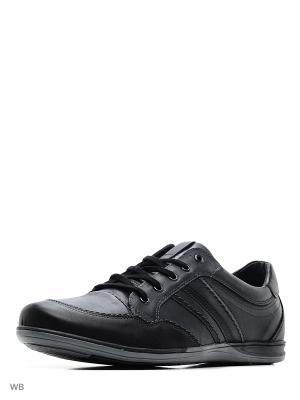 Туфли Goergo. Цвет: черный, темно-синий