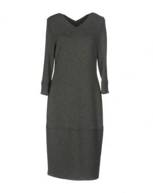 Платье до колена ST.EMILE. Цвет: серый