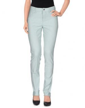 Повседневные брюки SIVIGLIA. Цвет: зеленый