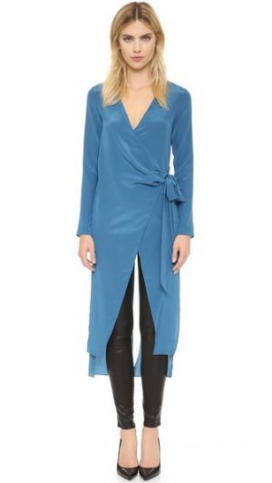 Блуза A New Ascending sass & bide. Цвет: голубой