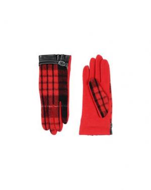 Перчатки L' APÉRO. Цвет: красный