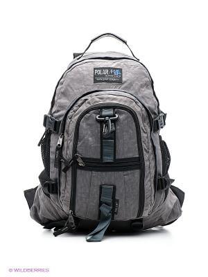 Рюкзак Polar. Цвет: черный, серый