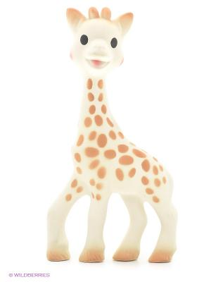Игрушка каучук Жирафик Софи Sophie la girafe. Цвет: белый, бежевый