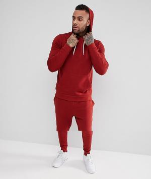 ASOS Красный спортивный костюм. Цвет: красный