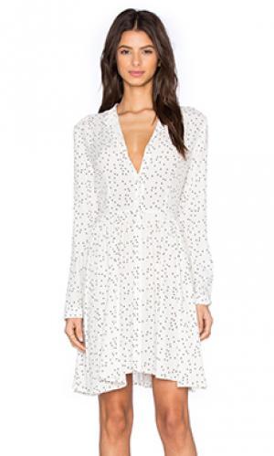 Платье linda ROLLAS ROLLA'S. Цвет: белый