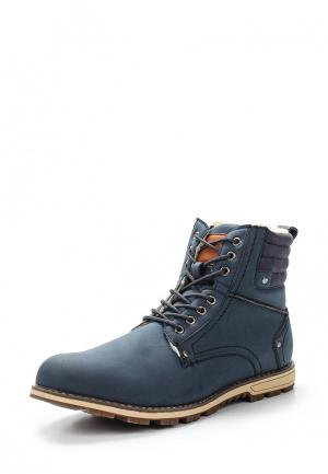 Ботинки Moza-X. Цвет: синий