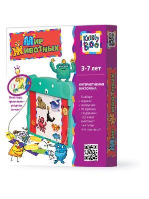 Игра Животные электронная книжка Kribly Boo. Цвет: морская волна