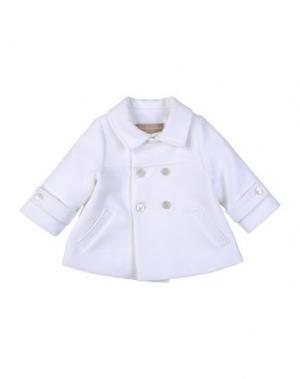 Пальто LA STUPENDERIA. Цвет: белый