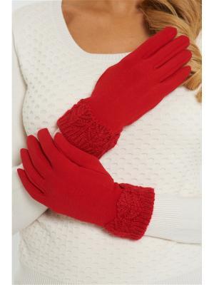 Перчатки Vittoria Vicci. Цвет: красный