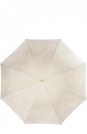 Зонт Pasotti Ombrelli. Цвет: светло-бежевый