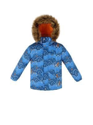 Куртка REIKE. Цвет: голубой