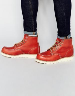 Red Wing Кожаные ботинки. Цвет: коричневый