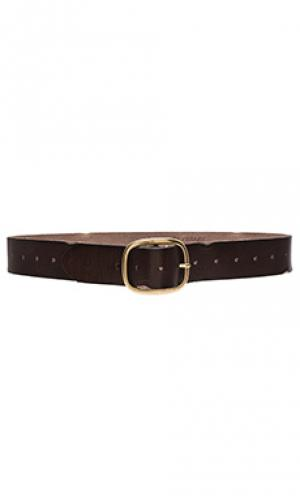 Vintage multi hole belt Linea Pelle. Цвет: коричневый