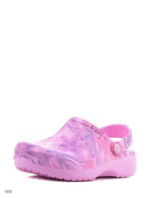 Сабо PlayToday. Цвет: розовый, голубой, фиолетовый