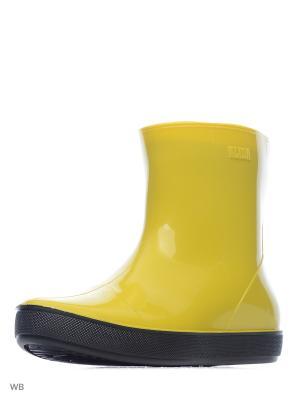 Резиновые сапоги ALIDA Nordman. Цвет: желтый