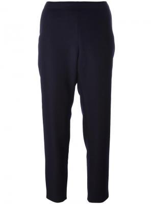 Зауженные брюки Vanessa Seward. Цвет: синий