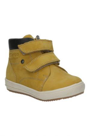 Ботинки El Tempo. Цвет: оранжевый, нубук