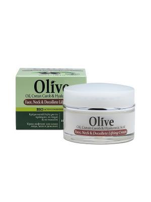 Герболив увлажняющий крем для кожи шеи и зоны декольте, 50мл Madis S.A.. Цвет: оливковый