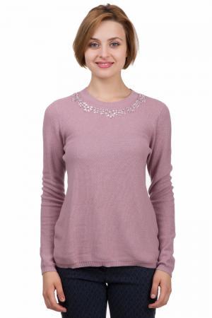 Пуловер Apanage. Цвет: розовый