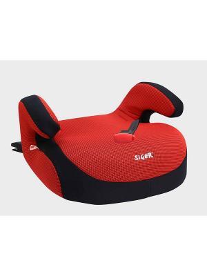 Детское автомобильное кресло БУСТЕР FIX SIGER. Цвет: красный