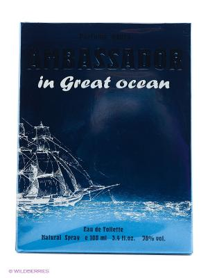 AMBASSADOR IN GREAT OCEAN EDT 100 ML SPRAY PARFUMS GENTY. Цвет: прозрачный