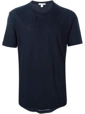 Классическая футболка James Perse. Цвет: синий