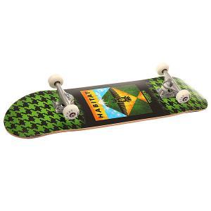 Скейтборд в сборе  Summit Green 31.75 x 8.375 (21.2 см) Habitat. Цвет: черный,зеленый