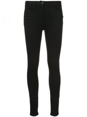 Second skin jeans 3X1. Цвет: чёрный