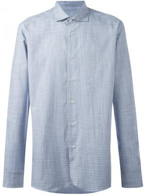 Рубашка на пуговицах Al Duca D'Aosta 1902. Цвет: синий