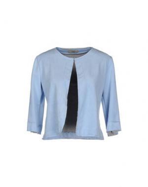 Пиджак NINA NEW YORK. Цвет: небесно-голубой
