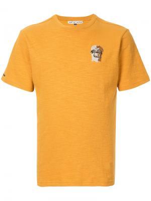 Футболка с вышивкой Jupe By Jackie. Цвет: жёлтый и оранжевый