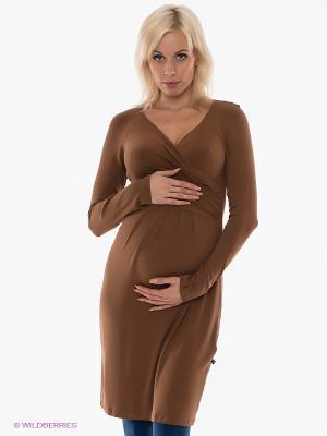Платье Love2Wait. Цвет: коричневый