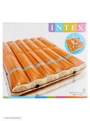 Надувной матрас Intex. Цвет: оранжевый
