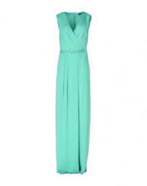 Длинное платье GUESS BY MARCIANO. Цвет: бирюзовый