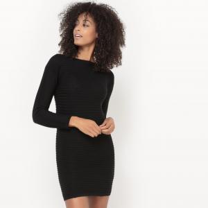Платье-пуловер. SUD EXPRESS. Цвет: черный