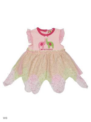 Платье с двойной юбкой Kidly