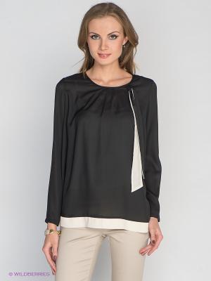 Блузка Aaiko. Цвет: черный, кремовый